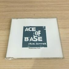 Ace of Base _ Cruel Summer _ CD Single PROMO _ 1998 Polydor near mint