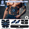 ABS Stimulator Abdominal Muscle Trainer AB Toner Belt EMS Muscle Training Gear