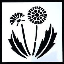 Riutilizzabile Dandelion modello stencil modello per Arti e Mestieri 13x13cm