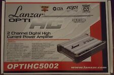 Lanzar OPTI HC5002 2/1 Channel Car Amplifier 960 Watts RMS Bridged