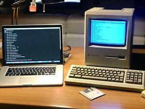 Kit Floppy + Cavo Trasferimento Dati  Macintosh Plus, 512Ke, Classic, tutti SE