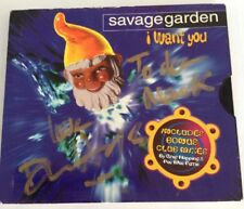 Savage Garden - I Want You Remixes RARE Signed by Darren Hayes! 1995 CD