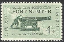 USA 1961 American Civil War/Fort Sumter/Cannon/Military/Battles 1v (n42948)