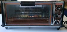 Vintage GE Toast 'n Broil Toast-R-Oven Electric Toaster Oven and Pans Great Cond
