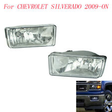 Fog Light For Chevrolet Silverado 2009-ON AHOE LH4X4 2008 Fog Lamps Clear Lens