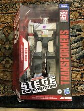 TRANSFORMERS WAR FOR CYBERTRON TRILOGY MEGATRON NEW 35th Anniversary- Box Bent