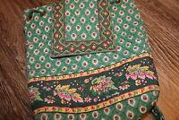 VTG VERA BRADLEY Greenfield backpack original Indiana green cottagecore y2k cute