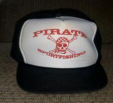 PIRATE SPORTFISHING Toledo Oregon Ohio LAKE ERIE Mesh SNAPBACK BASEBALL CAP Hat