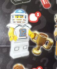 Lego 8833 Series 8 #5 FOOTBALL PLAYER figure Minifigure New Sealed Pack
