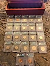 2005 Satin Finish Complete P and D 22 Coin Mint Set - ICG SP 69