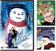 Jack Frost (DVD Deluxe) + 2 Movies, A Christmas Story / The Year without.. NEW