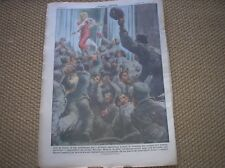 Marilyn Monroe en Korea US Army Housse 1954 Italian Magazine Magazine