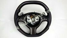 BMW E46 M3 Carbon fiber Steering Wheel with Shift Paddles
