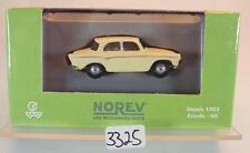 Norev 1/87 Nr. 573000 Simca Aronde Limousine cremeweiß OVP #3325