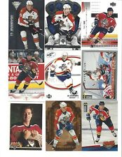 Lot of 1100 Florida PANTHERS Hockey Cards Set Boxed Packs - Bure Luongo Vokoun