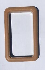*ONE* VOLVO 240 interior door handle trim frame beige color NEW 1360969 *ONE*
