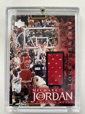 Michael Jordan 1999 UD Employees Game Jersey Patch Final Shot /275