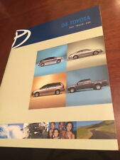 2004 Toyota SUV Truck Car 50-page Original Sales Brochure (Full Line)