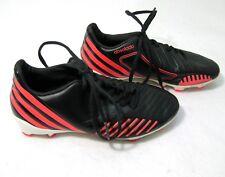 ADIDAS PREDATOR Boys Black   Red Soccer Cleats Shoes (Size 2.5) Absolado 71c5adbaeec8