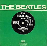 "Vinyl 7"" THE BEATLES Paperback Writer / Rain"