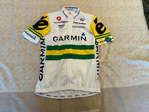 CASTELLI Cycling Jersey BRAND NEW GARMIN ORIGINAL SHORT SLEEVES SIZE M Unisex