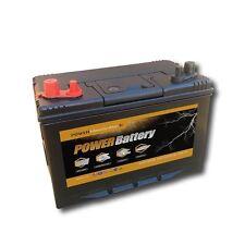 Batterie décharge lente camping car bateau 12v 110ah double borne 330x172x242mm