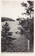 RP; MUSKOKA, Ontario, Canada; Near Cedar Nook, Six Mile Lake, 1948