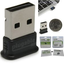 Plugable USB Bluetooth 4.0 Low Energy Micro Adapter For Windows 10, 8.1, 8, 7