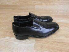 Samuel Windsor Hombre Zapatos Negros Hecho a Mano antideslizante en mocasines talla UK 8 (29)