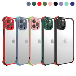 Case For iPhone 11 12 Pro Max 6s 7 8 Plus XS XR SE Shockproof TPU+PC Phone Cover