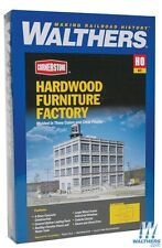 HO Walthers Cornerstone kit 933-3044 * Hardwood Furniture Factory * NIB