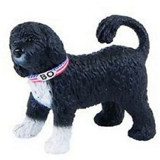Portuguese Water Dog - Bullyland (65430): vinyl miniature toy animal figure
