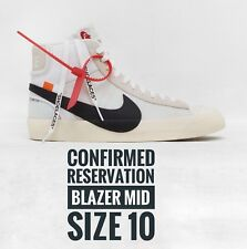 "Nike Blazer Mid x Virgil Abloh ( Off-White ) ""The Ten"" UK 10 *CONFIRMED*"