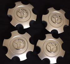 TOYOTA TUNDRA 2003 2004 2005 2006 WHEEL CENTER HUB CAPS SILVER 560-69440 4 PCs