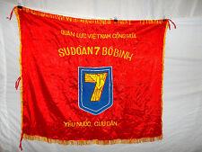 flag89 Vietnam RVN flag 7th Infantry Division Su Doan 7 Bo Binh Yeu Nuoc Cuu Dan