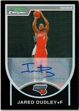 Jared Dudley 07-08 Bowman Chrome Black Refractor Auto !