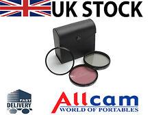Zeikos ZE-FLK55 55mm Professional MULTI-COATED Glass Filter Kit UV Polarizer FLD