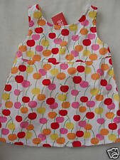 Gymboree CHERRY BABY White Cherries Print Swing Tank Top Shirt NWT 4T