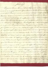 Porcari Capannori Lucca Rapporto sullo Stato Torrenti Ralla e Sopra Nuova 1861