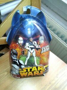 FigurineStar Wars ROTS AT-TE Tank Gunner Hasbro clone trooper