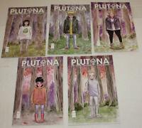 Plutona #1,2,3,4,5 Complete Set, Jeff Lemire, NM 9.4, 1st Print, 2015-16