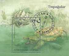 Timbre Reptiles Tortues Azerbaidjan BF15 o lot 7727
