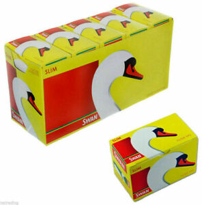 5 10 20 40 SWAN SLIM FILTER TIPS LOOSE SMOKING FILTER TIPS SLIMLINE FILTER TIPS