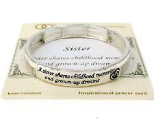 Bracelet, Sister Childhood Memories, Grown-up Dreams Sibling BFF Love Cute #55-G