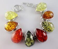 Precious Modernist amber Gemstone Jewellery bracelet HB1-82