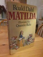 Matilda Roald Dahl First Edition Later Printing 1996