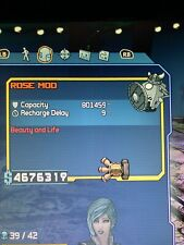 Xbox One Borderlands GOTY SHIELD and WEAPON Mod Modded In-Game Items 1 Shot Kill
