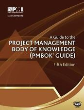 PMBOK Guide: A Guide to the Project Management Body of Knowledge - 5th Edition