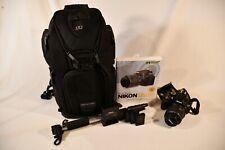 Nikon D5100 Digital SLR Camera w/18-55mm Lens, Camera Bag, Batteries, and more!