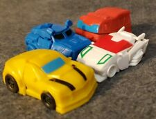 Transformers Cyberverse Tiny Turbo Changers LOT Of 4 Bumblebee Soundwave Ironhid